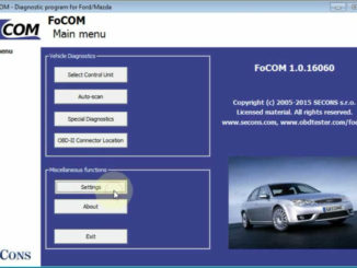 Ford Focus Cruise Control CCF Programming by FCOM (1)