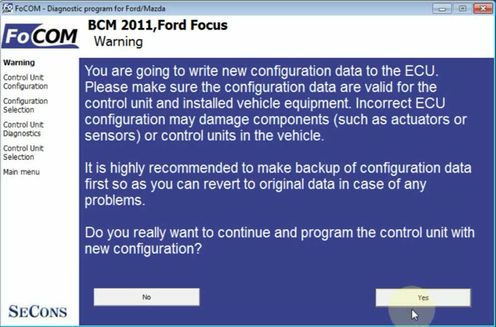 Ford Focus Cruise Control CCF Programming by FCOM (12)