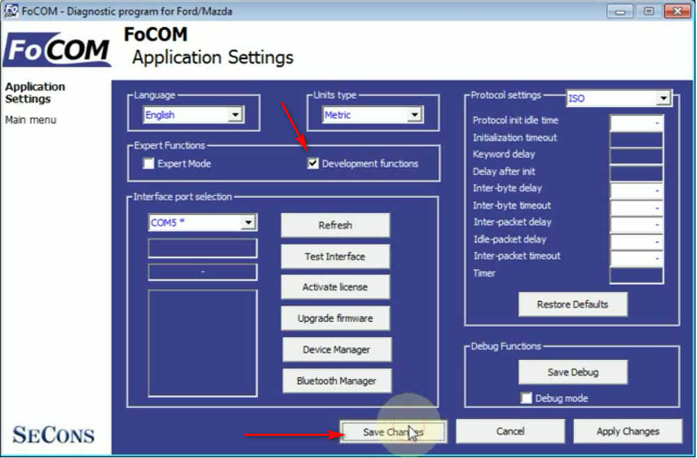 Ford Focus Cruise Control CCF Programming by FCOM (2)