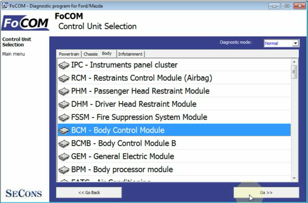 Ford Focus Cruise Control CCF Programming by FCOM (4)