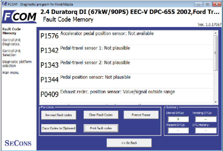 How to Use FCOM Diagnose Vehicles (11)