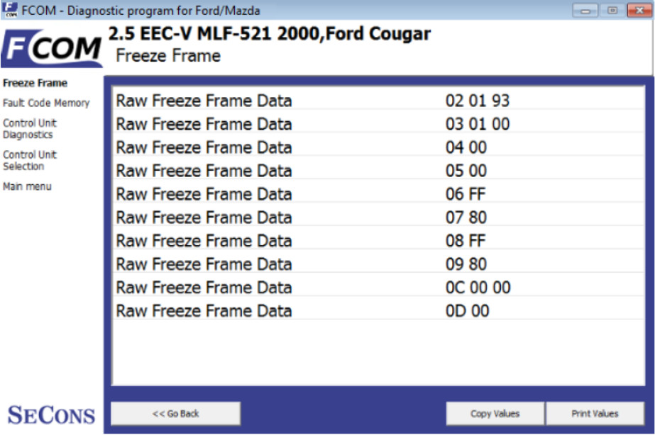 How to Use FCOM Diagnose Vehicles (12)