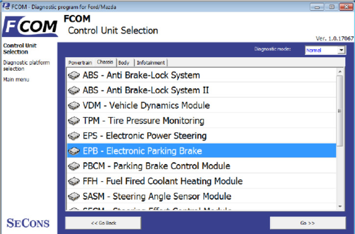 How to Use FCOM Diagnose Vehicles (2)
