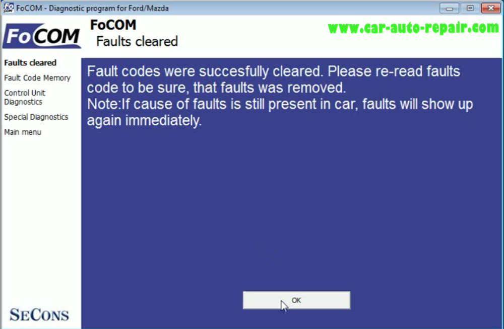 How to Use FCOM to Diagnose for Old Ford Mondeo 1993 (11)