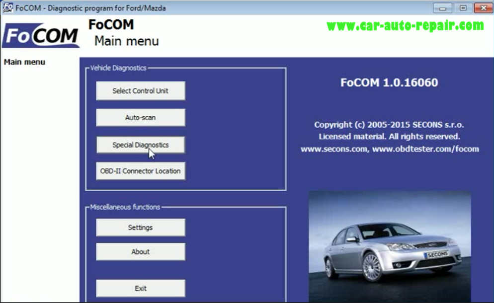 How to Use FCOM to Diagnose for Old Ford Mondeo 1993 (5)