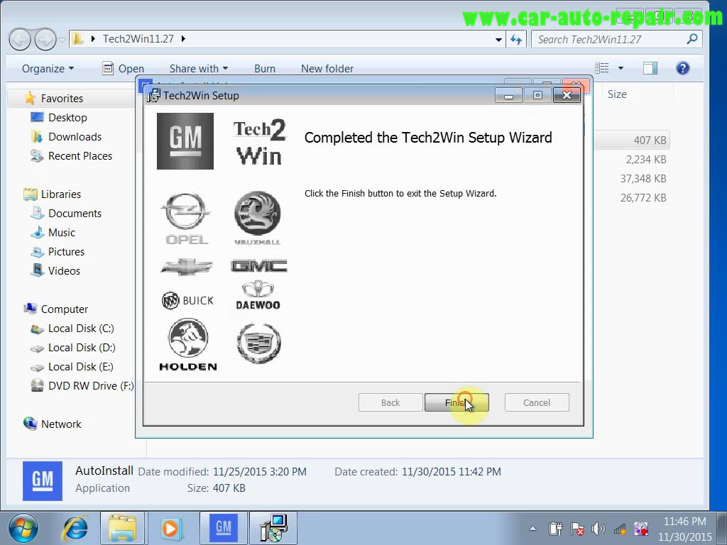 Original & Crack GM Tech2Win Software Installation Guide (33)