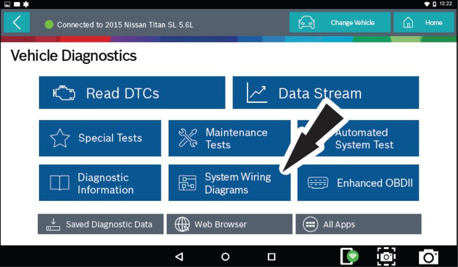 Bosch ADS625 Wiring Diagram Function Test on Nissan Titan 2015 (1)