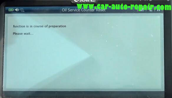G-Scan 2 Diagnostic Tool to Rest Oil Service Counter for Jaguar XF 2011 (12)