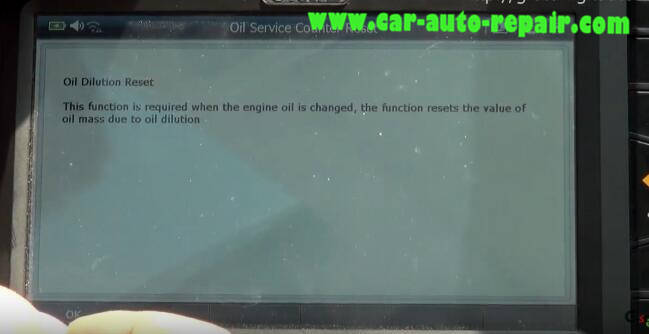 G-Scan 2 Diagnostic Tool to Rest Oil Service Counter for Jaguar XF 2011 (17)