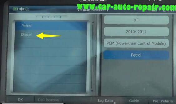 G-Scan 2 Diagnostic Tool to Rest Oil Service Counter for Jaguar XF 2011 (7)