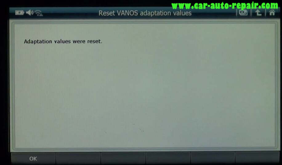 G-scan 2 Reset VANOS Adaptation Values for BMW 320I 2011 (5)