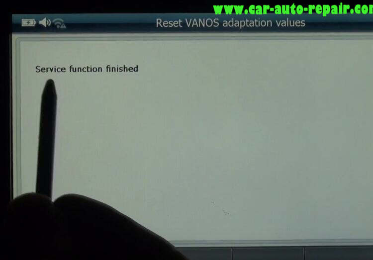 G-scan 2 Reset VANOS Adaptation Values for BMW 320I 2011 (8)