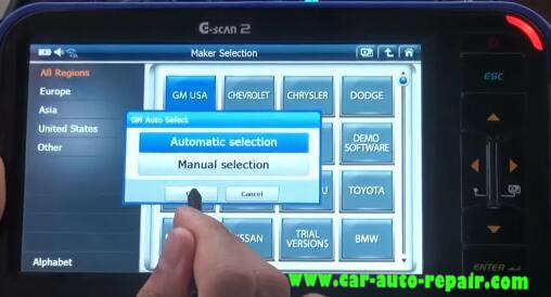 Gscan 2 Learn Crankshaft Position Variation for Chevrolet Impala 2010 (3)