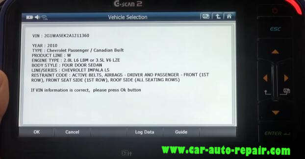 Gscan 2 Learn Crankshaft Position Variation for Chevrolet Impala 2010 (4)