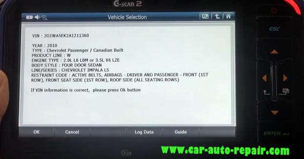 Gscan 2 Learn Crankshaft Position Variation for Chevrolet Impala 2010 (4)