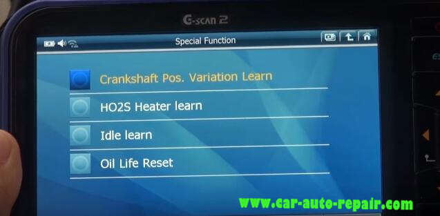 Gscan 2 Learn Crankshaft Position Variation for Chevrolet Impala 2010 (8)