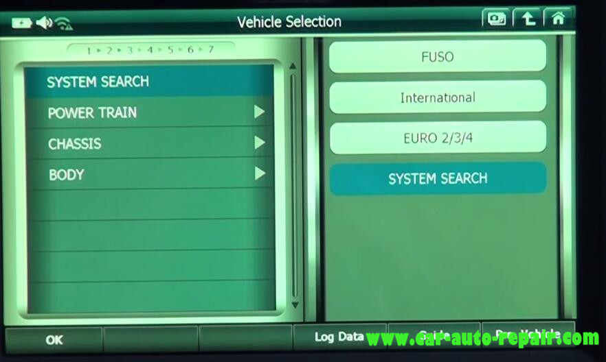 Gscan 2 Read & Clear DTCs for Mitsubishi Fuso Super Great Truck (12)