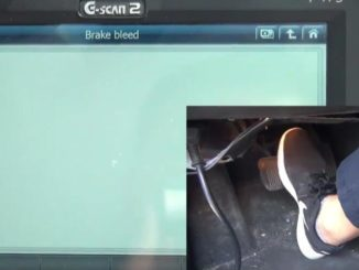 How to Bleed Brake System for Jaguar XF 3L by G-Scan 2 (10)