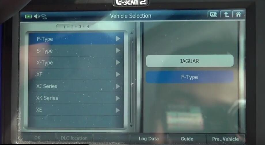 How to Bleed Brake System for Jaguar XF 3L by G-Scan 2 (3)