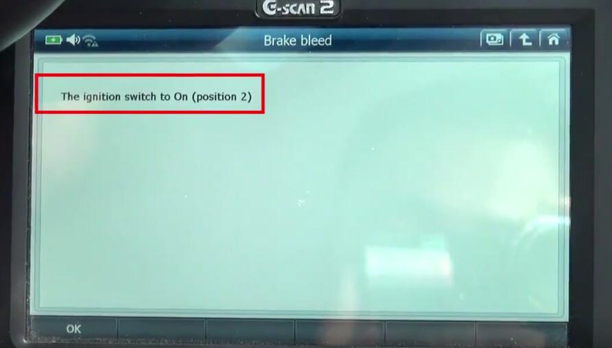 How to Bleed Brake System for Jaguar XF 3L by G-Scan 2 (8)
