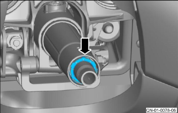 How to Install Steering Column Grounds for Aston Martin DB11 (9)