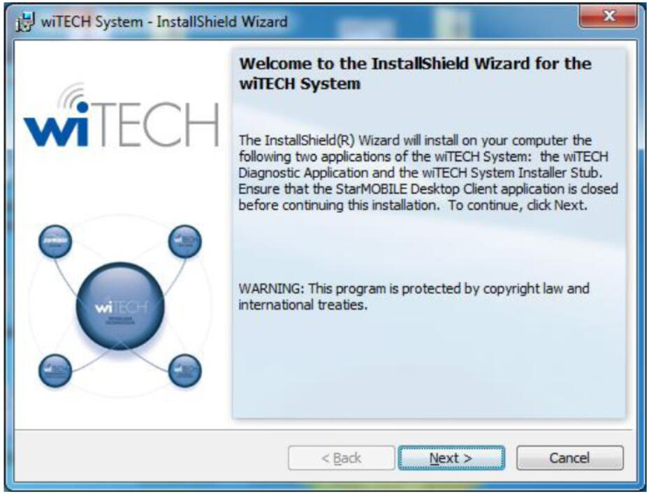 Latest witech software