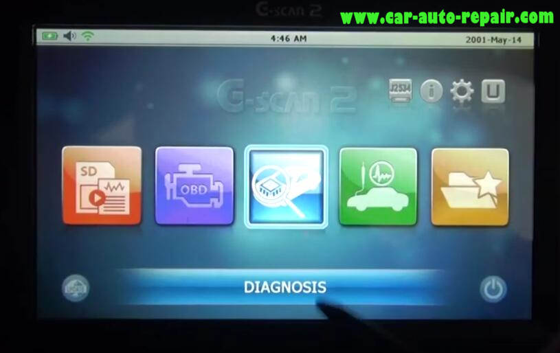 How to Use G-Scan 2 Do VSA Function for Honda HR-V 2015 (1)