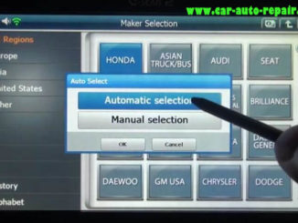 How to Use G-Scan 2 Do VSA Function for Honda HR-V 2015 (2)