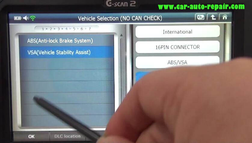 How to Use G-Scan 2 Do VSA Function for Honda HR-V 2015 (4)