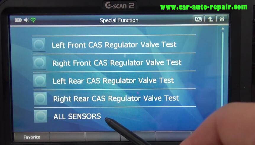 How to Use G-Scan 2 Do VSA Function for Honda HR-V 2015 (6)