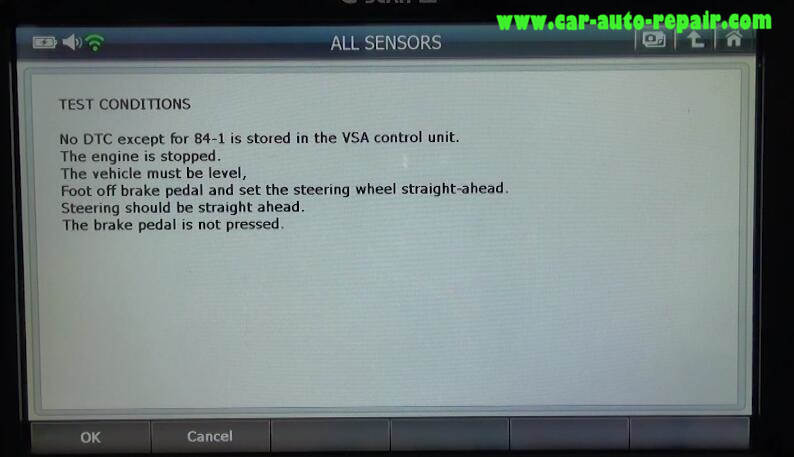 How to Use G-Scan 2 Do VSA Function for Honda HR-V 2015 (8)