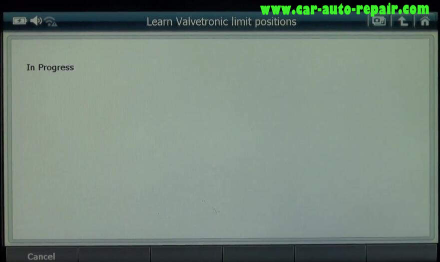 How to Use G-Scan 2 Learn Valvetronic Limit Positions for BMW 320I 2011 (7)