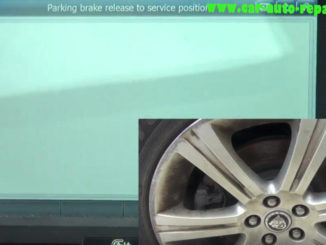 How to Use G-Scan 2 Release Parking Brake for Jaguar XF 2011 (11)