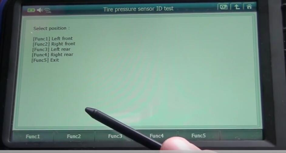 How to Use G-Scan 2 Test Tire Pressure Sensor ID for Benz E350 2014 (5)