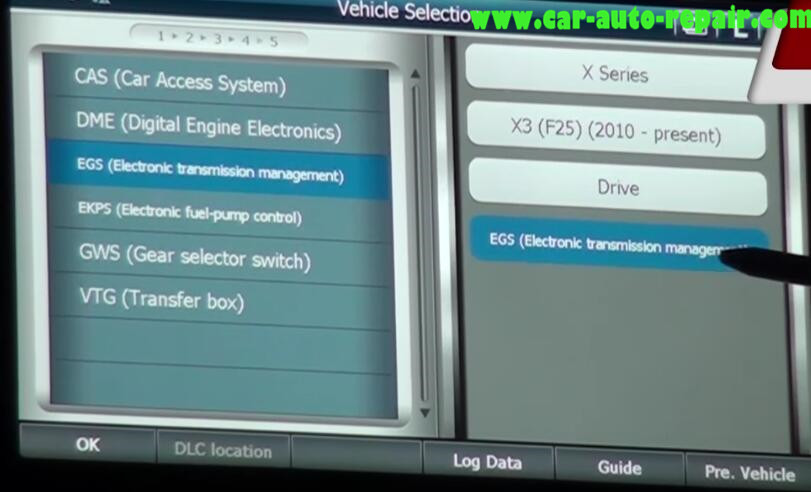 How to Use G-Scan 2 to Reset Adaptation Values for BMW X3 2015 (1)