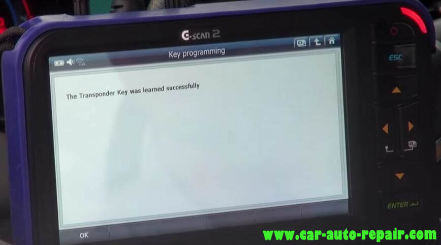 How to Use G-Scan Program New Keys for Chevrolet Cruze 2012 (16)