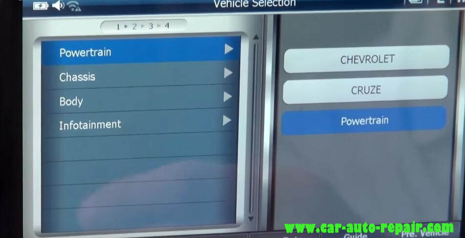 How to Use G-Scan Program New Keys for Chevrolet Cruze 2012 (2)