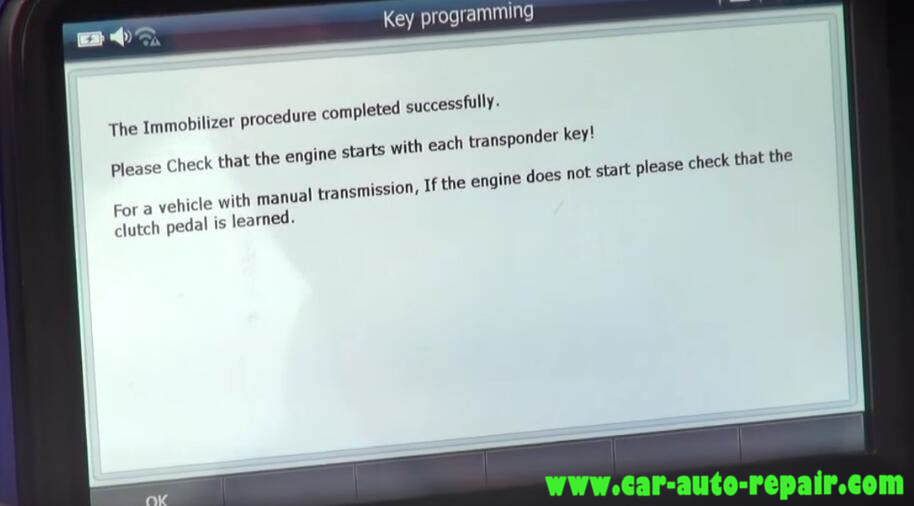 How to Use G-Scan Program New Keys for Chevrolet Cruze 2012 (22)