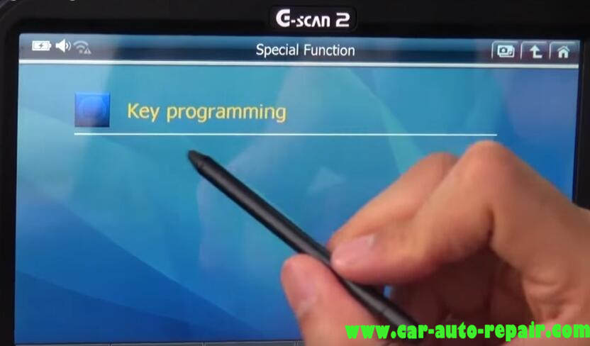 How to Use G-Scan Program New Keys for Chevrolet Cruze 2012 (5)