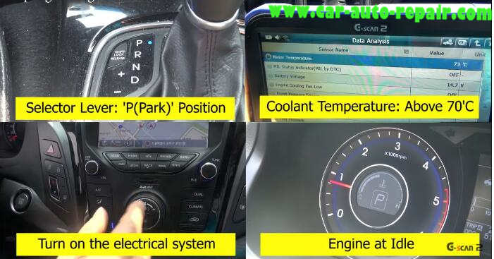 How to Use G-Scan Tool Regenerate DPF for Hyundai i40 2014 (11)