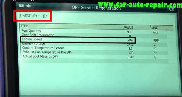 How to Use G-Scan Tool Regenerate DPF for Hyundai i40 2014 (14)