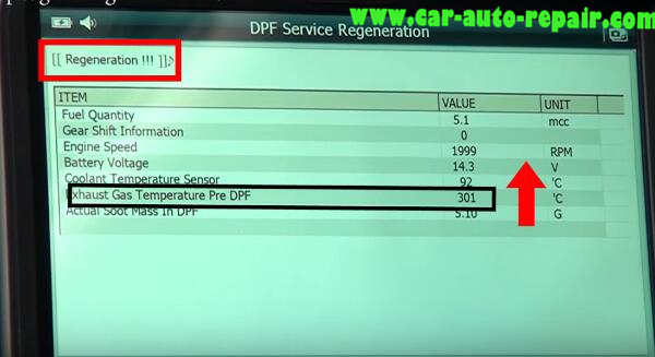 How to Use G-Scan Tool Regenerate DPF for Hyundai i40 2014 (16)