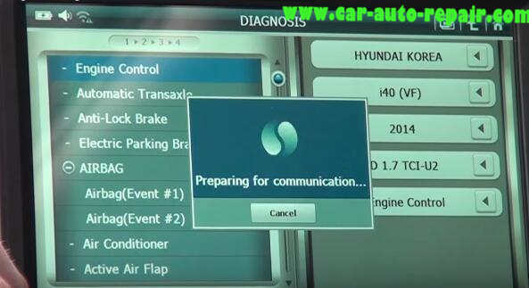 How to Use G-Scan Tool Regenerate DPF for Hyundai i40 2014 (7)
