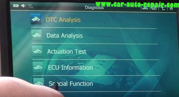 How to Use G-Scan Tool Regenerate DPF for Hyundai i40 2014 (8)