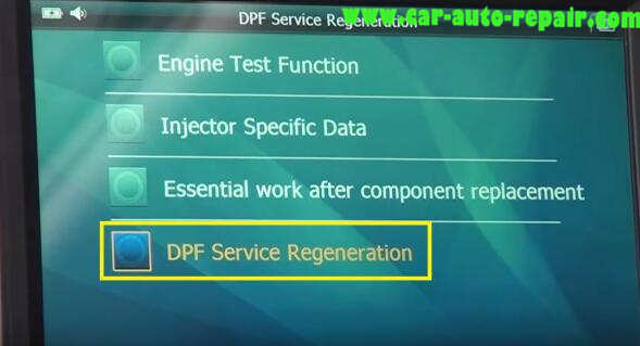 How to Use G-Scan Tool Regenerate DPF for Hyundai i40 2014 (9)