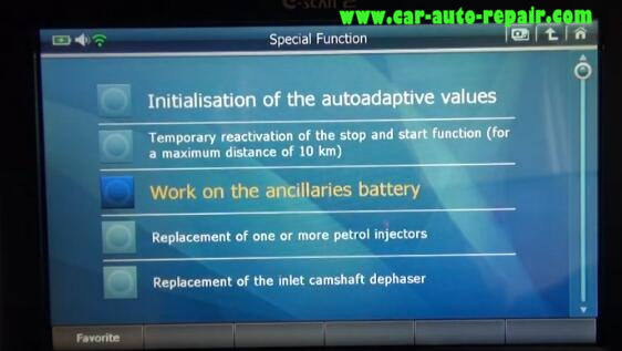 How to Use G-Scan2 ResetCode Ancillaries Battery for Citroen C3 2017 (11)