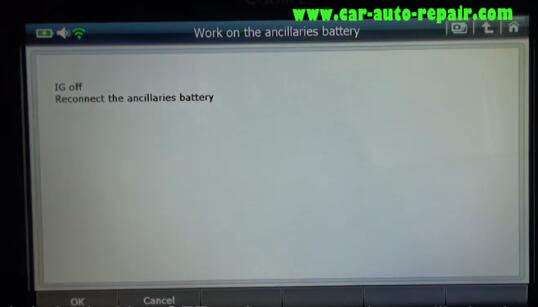 How to Use G-Scan2 ResetCode Ancillaries Battery for Citroen C3 2017 (12)