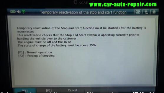 How to Use G-Scan2 ResetCode Ancillaries Battery for Citroen C3 2017 (15)