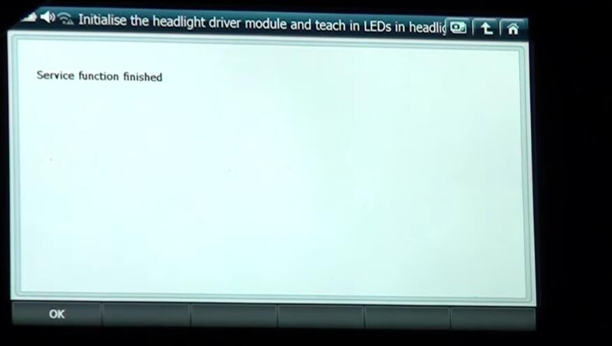 How to Use G-scan 2 Initialize Headlight Driver Module for BMW X3 2015 (12)