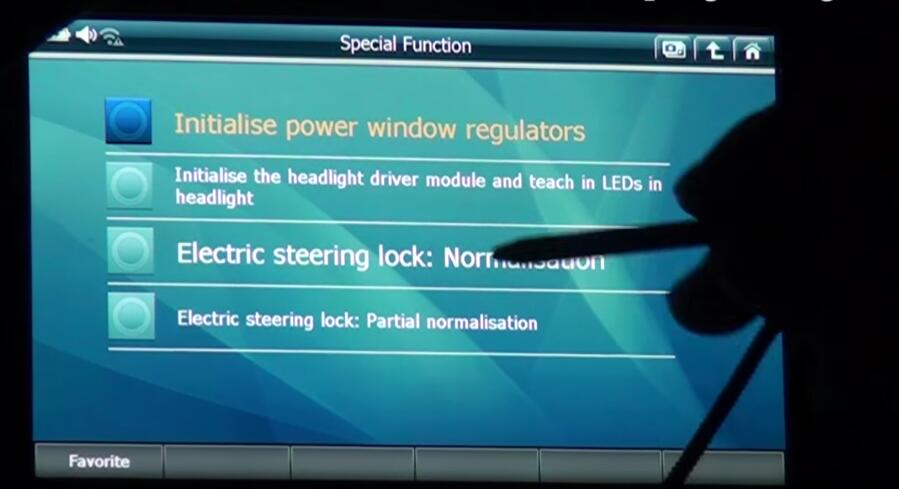 How to Use G-scan 2 Initialize Headlight Driver Module for BMW X3 2015 (3)